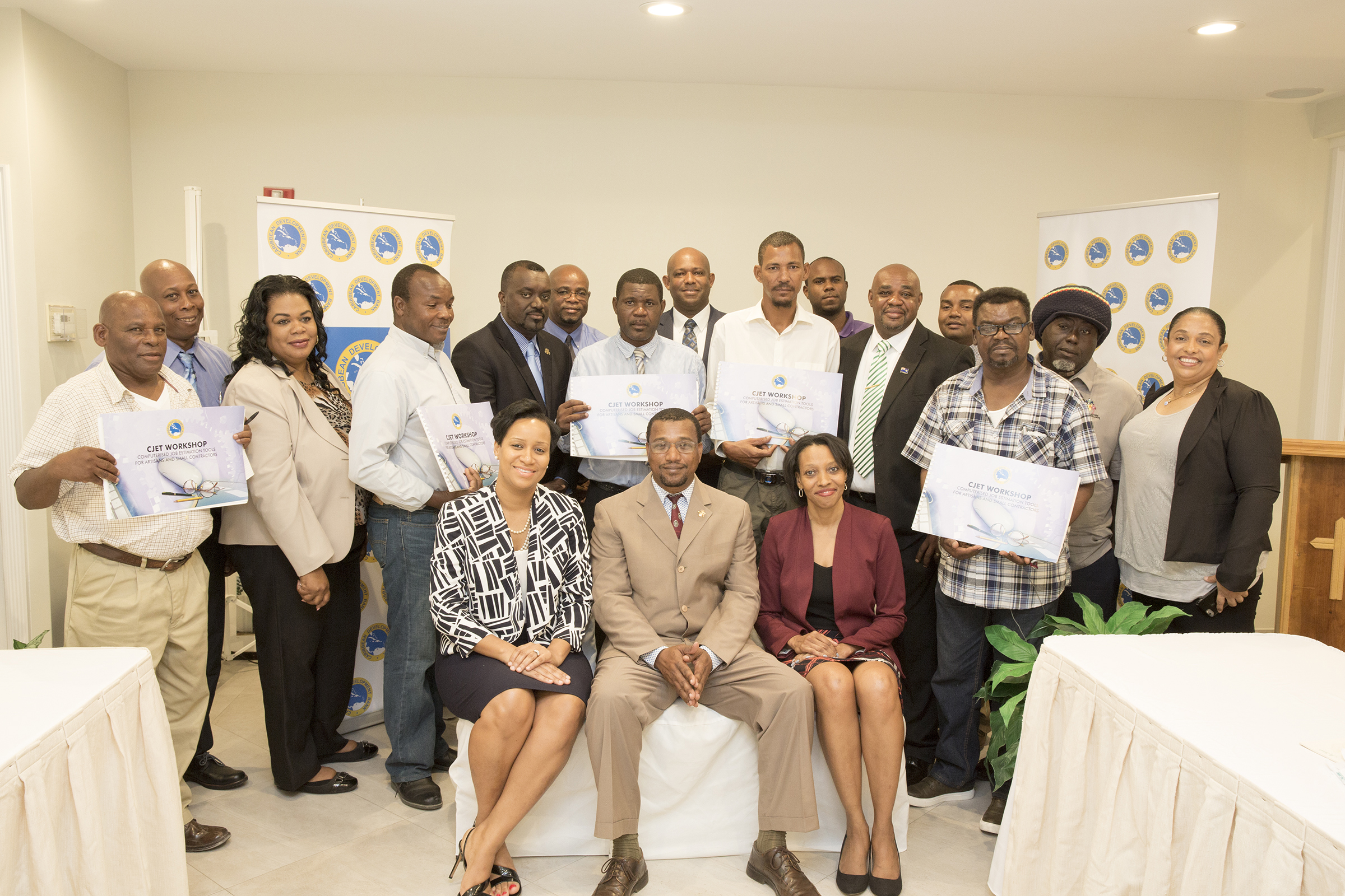 CDB hosts workshops for artisans and small contractors in TCI