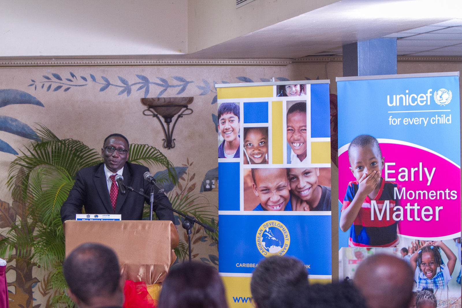 Dr. Aloys Kamuragiye, UNICEF Representative pledges UNICEF's continued support to all partners to ensure there is a supportive environment of policies for quality ECD.