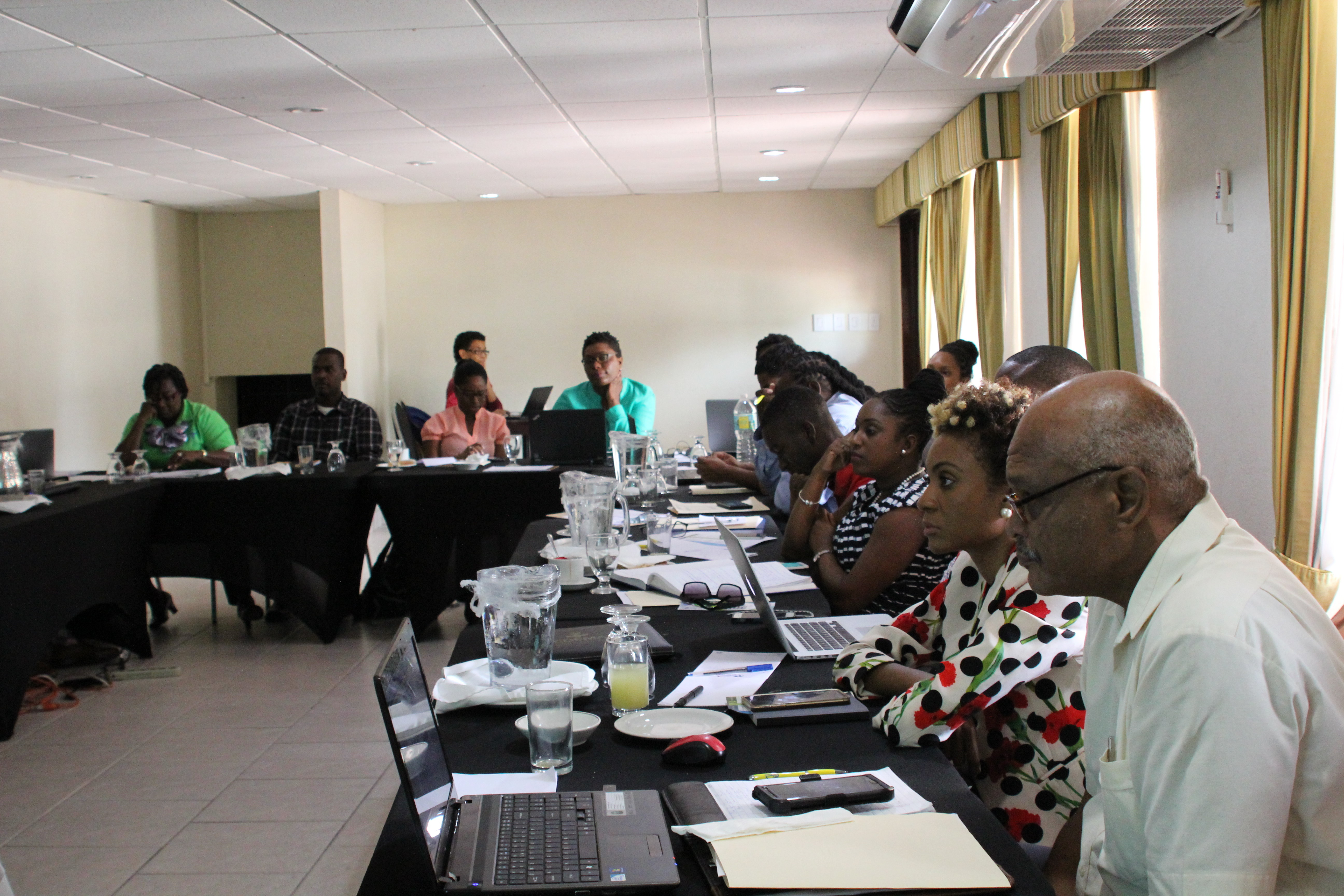 Regional stakeholders involved with numerous areas of resilience-building attended the pilot of the Community-based Disaster Resilience course in Barbados.