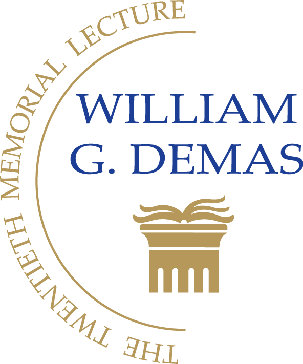 official logo of the 20th  William G. Demas Memorial Lecture