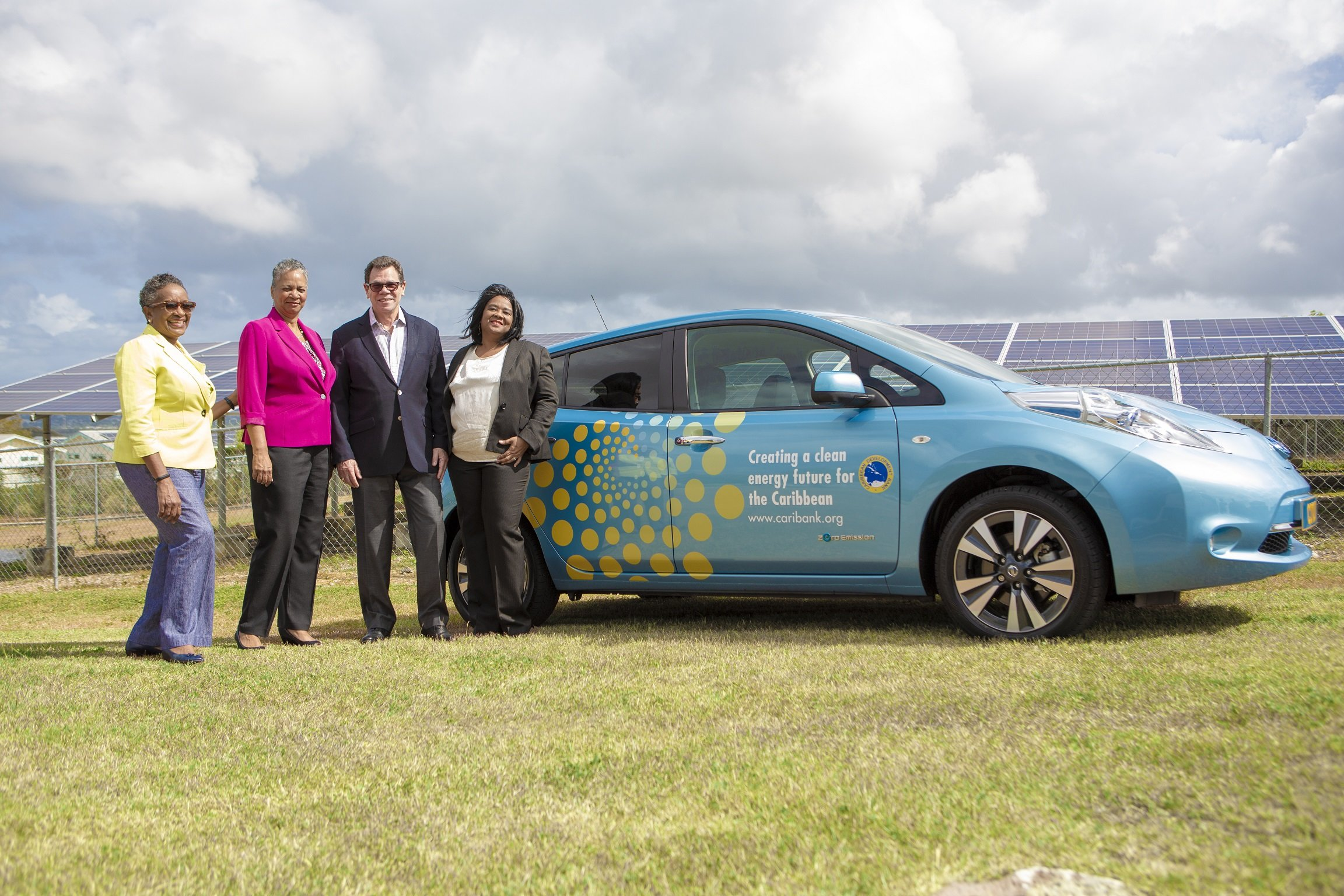 CDB adds electric vehicle to its transportation fleet