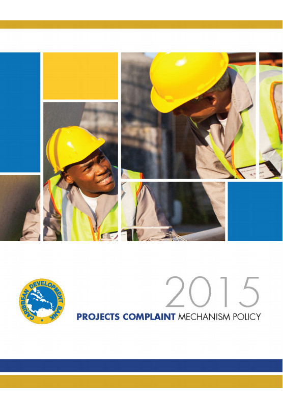 Projects Complaints Mechanism Policy