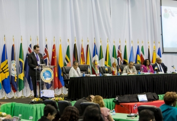 CDB Governors put the environment, gender and private sector growth in the spotlight at Annual Meeting