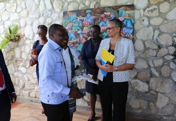 CDB launches project to improve disaster risk management and climate resilience in Ile-à-Vache, Haiti