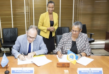 CDB signs cooperation agreement with the UNDP